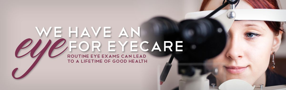We have an eye for eyecare